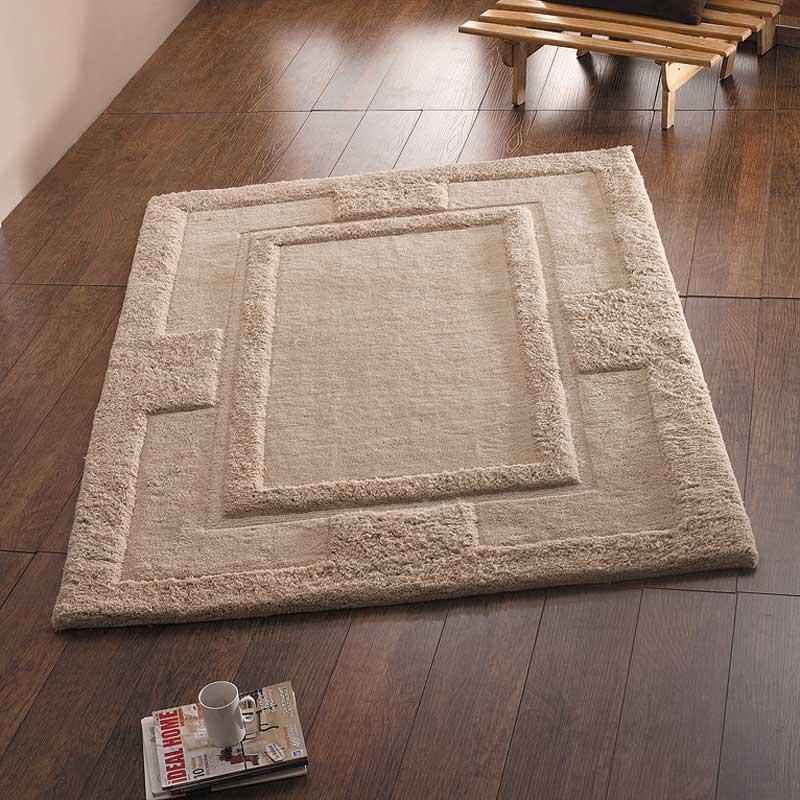 Apollo Biege Wool Rug