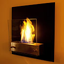 The Naked Flame Simplicity Wall Mounted Bio Ethanol Fire