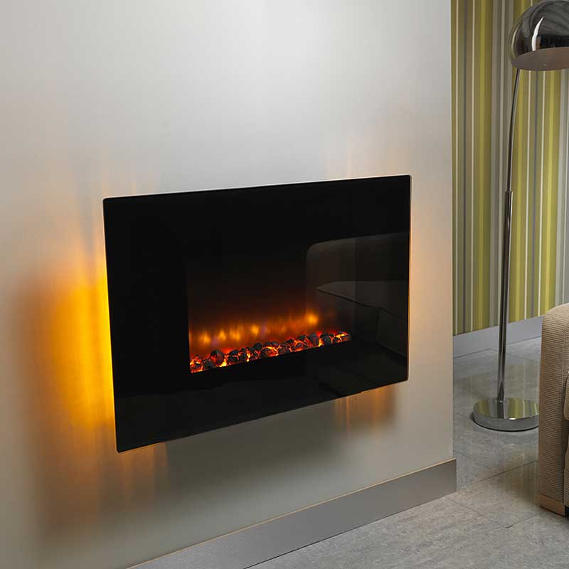 Be Modern Orlando Flat Hang on the Wall Electric Fire