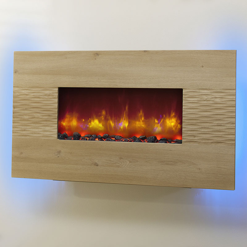 Be Modern Orlando Odessa Hang on the Wall Electric Fire