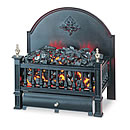 Burley Hallaton 225 Electric Basket Fire