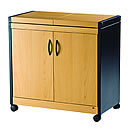 Hostess HL6232BE Connoisseur Beech Effect Trolley