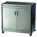 Hostess HL6232BS Connoisseur Brushed Stainless Steel Trolley