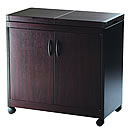 Hostess HL6232DB Connoisseur Dark Brown Mahogany Effect Trolley
