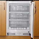 White Knight WK95BU 3.3cu ft Integrated White Freezer