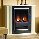 Dimplex Mozart Stone Electric Fireplace Suite