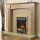 Europa Baron Electric Fireplace Suite
