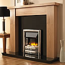 Europa Bauer 54 Electric Fireplace Suite