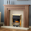 Europa Brome 54 Electric Fireplace Suite