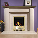 Europa Norwood Limestone Fireplace