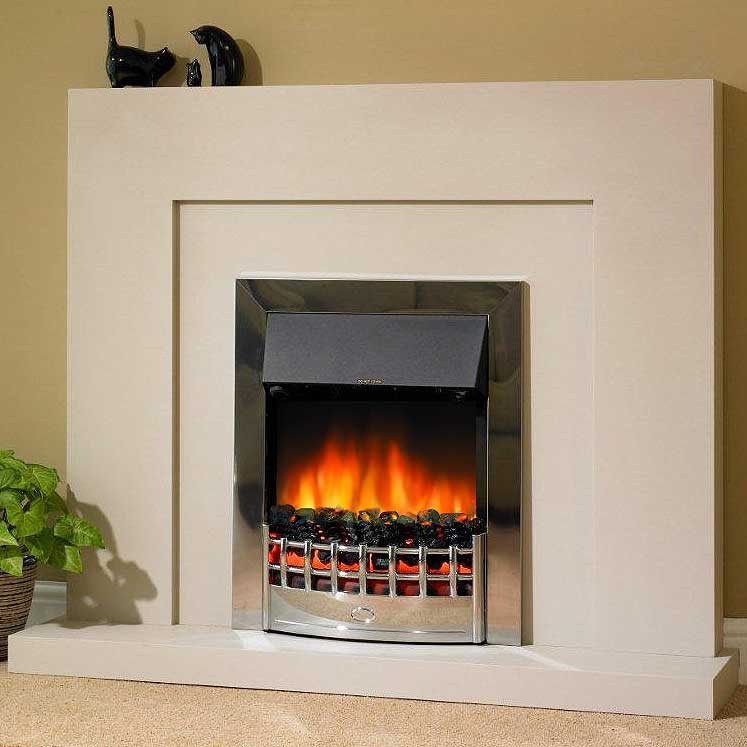 Delta Edge Electric Fireplace Suite