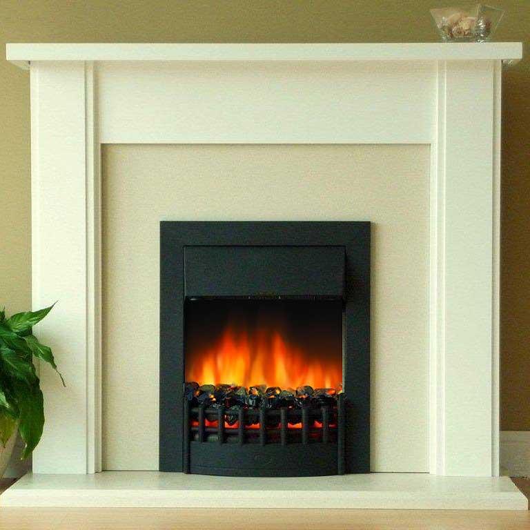 Delta Bretton Electric Fireplace Suite