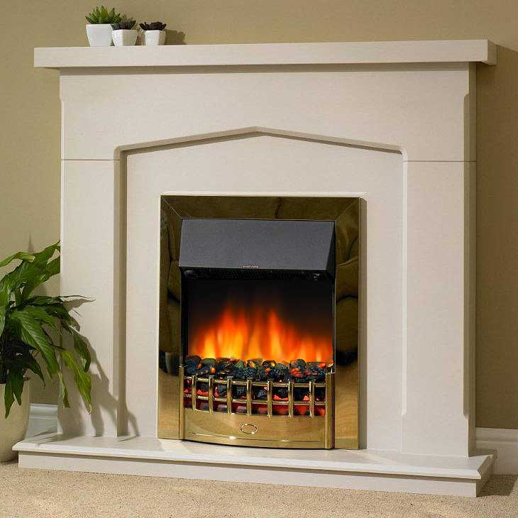 Delta Toton Electric Fireplace Suite