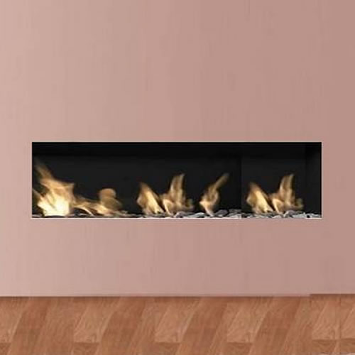 Apex Liberty 10 Frameless Open Fronted Gas Fire