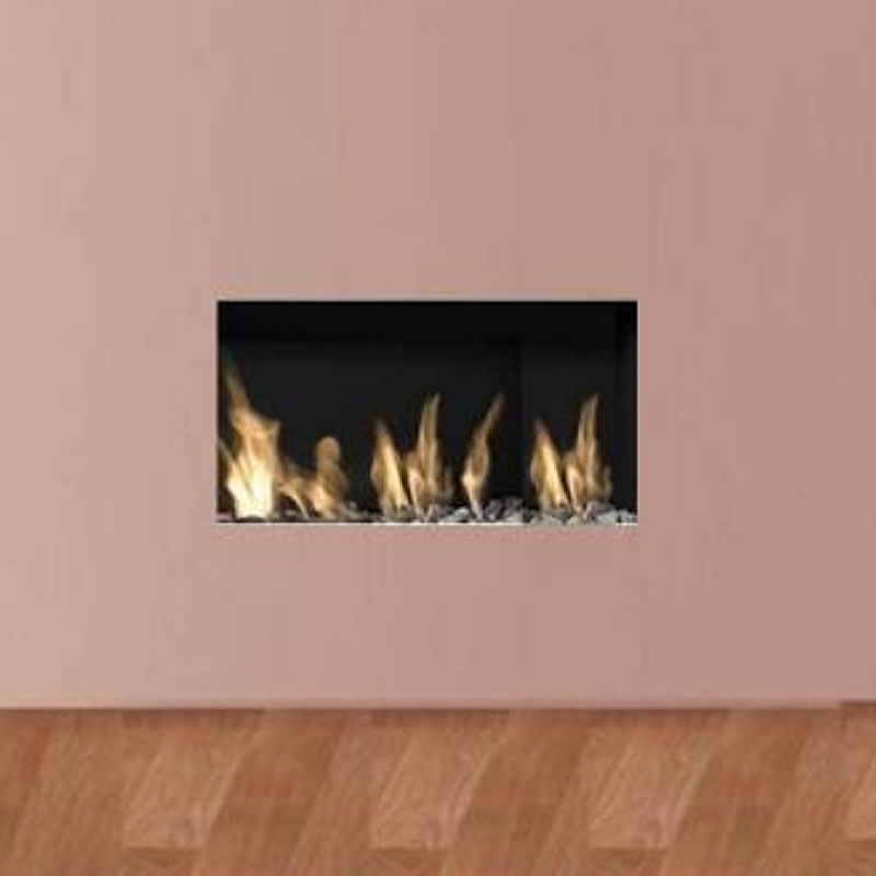 Apex Liberty 4 Frameless Open Fronted Gas Fire