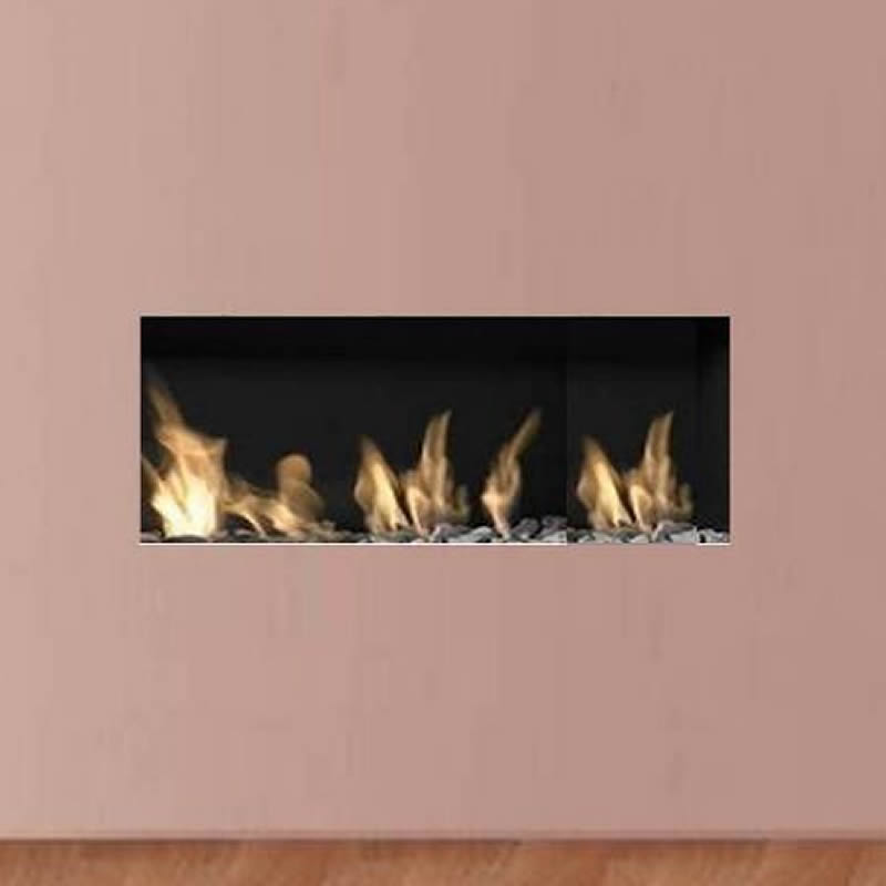 Apex Liberty 6 Frameless Open Fronted Gas Fire