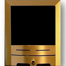 Lux Contemporary Brushed Brass (Sir)