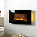 Apex Havana Curve Hang on the Wall Electric Fire