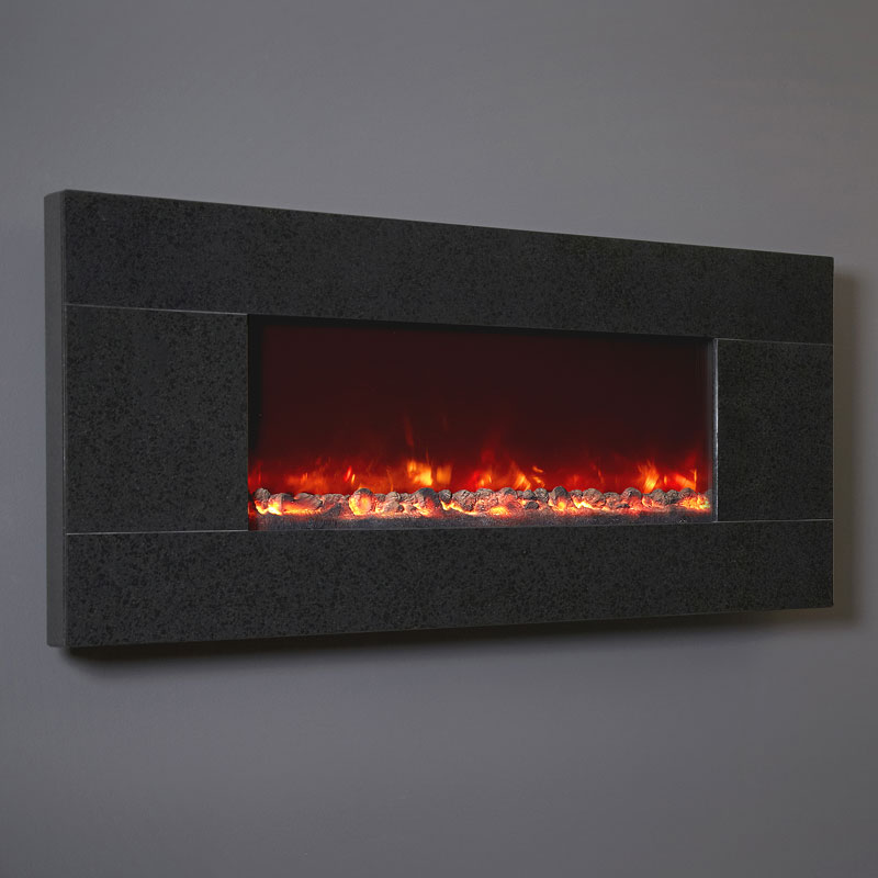 Celsi Electriflame Basalt Granite Electric Fire