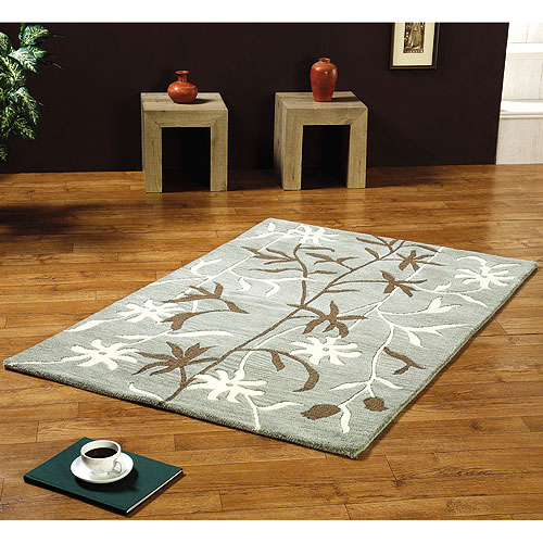 Empire Navy Polypropylene Rug