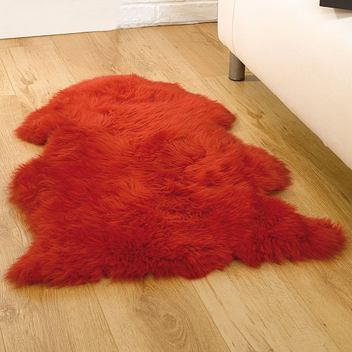 8033 Red Polypropylene Rug