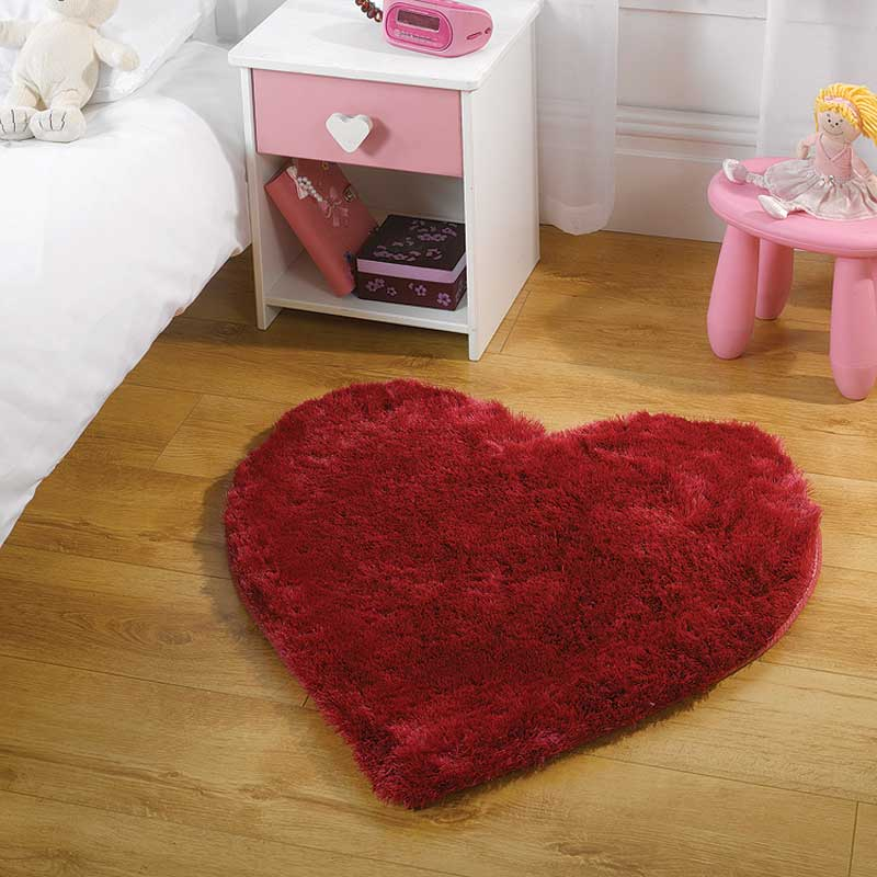 Kiddy Splendour Cupid Bright Pink Rug