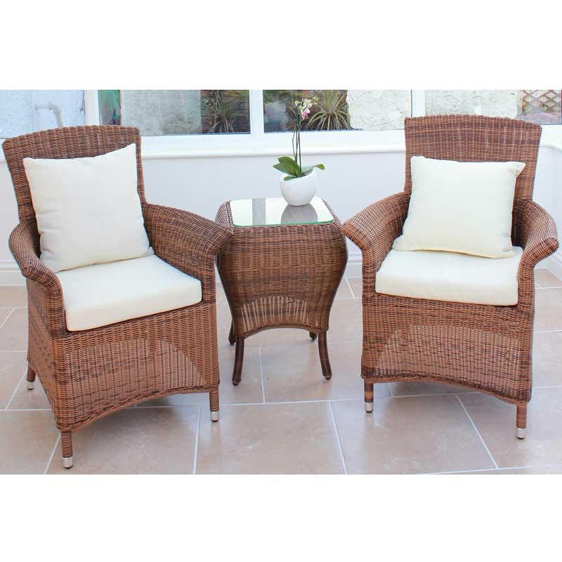Cozy Bay Panama Java Honey 2 Seater Set
