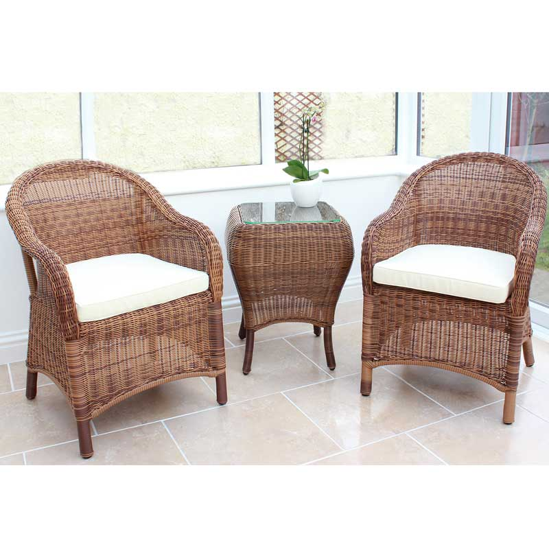Cozy Bay Sicilia Java Honey 2 Seater Set