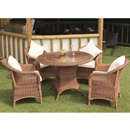 Cozy Bay Sicilia Java Honey 4 Seater Set