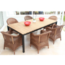 Cozy Bay Sicilia Java Honey 6 Seater Teak Set