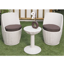 Cozy Bay Provence White 2 Seater Set