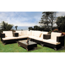 Cozy Bay Manhattan Cappucino Super 6 Seater Set