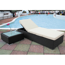 Cozy Bay Marbella Black Sun Lounger
