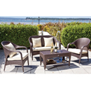 Cozy Bay Havana Cappucino 4 Seater Set