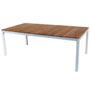 Teak Rectangular Table - White