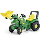Ride on Tractor John Deere X-Trac with Loader   