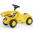 Ride on Tractor Rolly Minitrac CAT Dumper Truck
