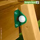 Jungle Gym Bolt Caps (10 pcs)