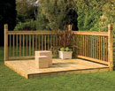 Forest Patio Deck Kit
