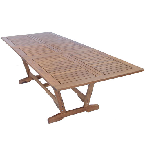 Almeria Automatic Extension 190-250 x 100 cm Table