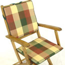 Tartan Seat & Back Rest Cushion (43X40X4CM / 43...