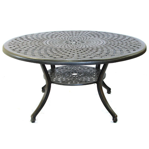 Eclipse 150cm Round Table with Lazy Susan
