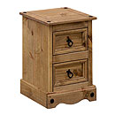 Coatsbridge 2 Drawer Petite Bedside Cabinet