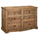 Coatsbridge 3plus3 Drawer Wide Chest