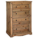 Coatsbridge 4 Drawer Chest