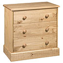 Clydebank 3 Drawer Chest