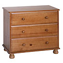 Dundee 3 Drawer Chest