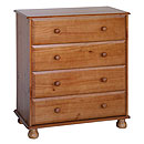 Dundee 4 Drawer Chest