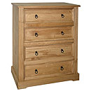 Ponderosa 4 Drawer Chest