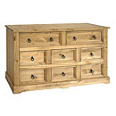 Ponderosa 6plus2 Drawer Wide Chest
